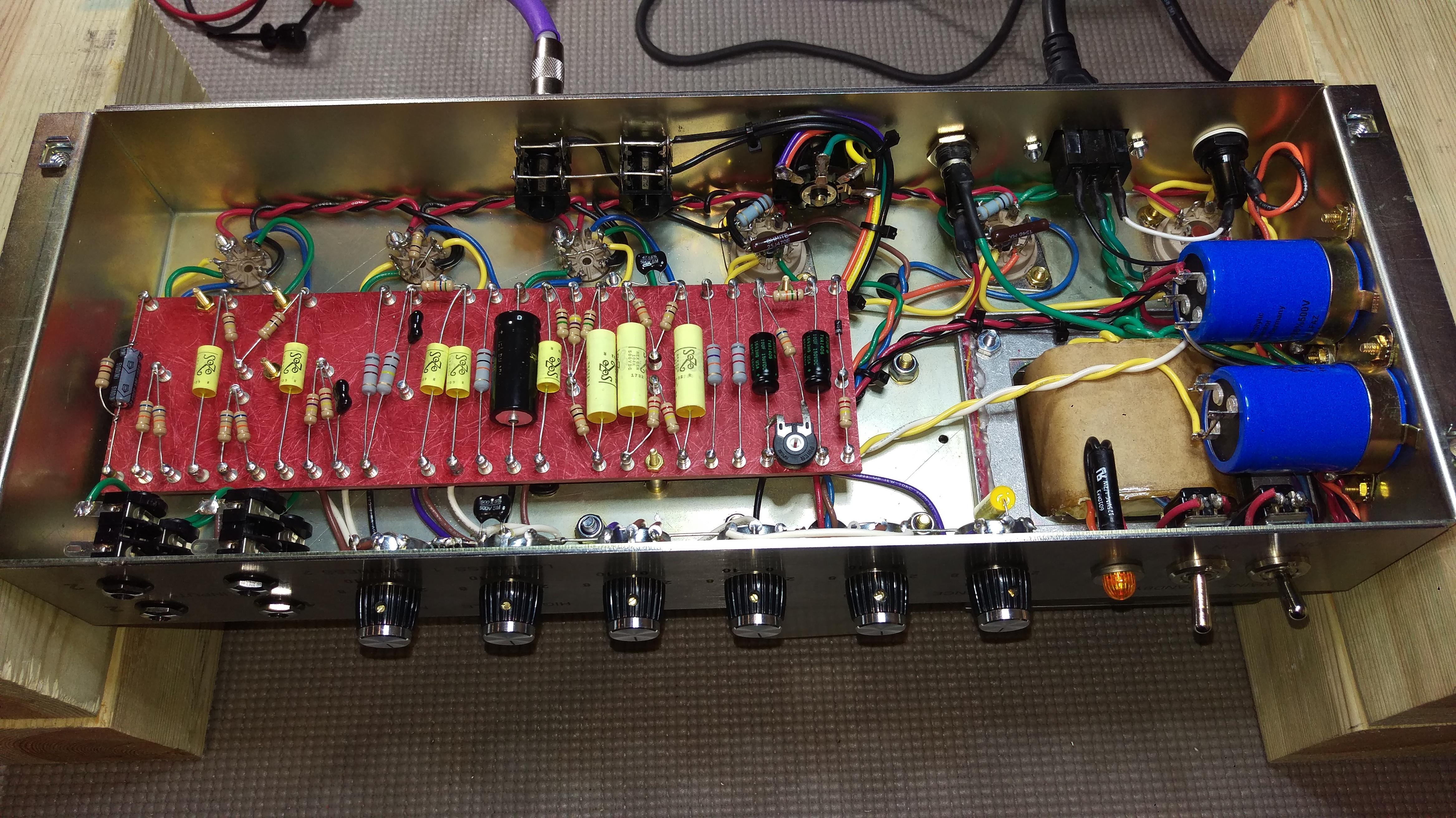 TIO-45 Handwired Guitar Amplifier